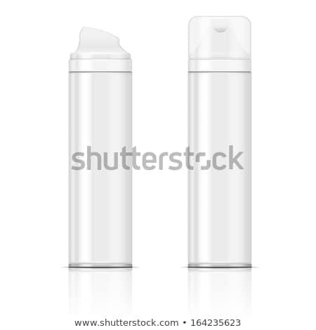 Aerosol pacchetto illustrazione 3d isolato bianco corpo Foto d'archivio © montego