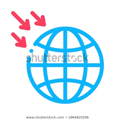 atmospheric pressure of planet icon vector outline illustration Stock photo © pikepicture