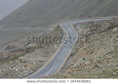 Ver alcance estrada vale himalaia la Foto stock © dmitry_rukhlenko