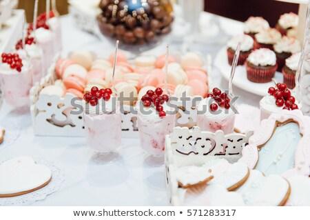 Bolo tabela variedade maravilhoso pratos Foto stock © ruslanshramko