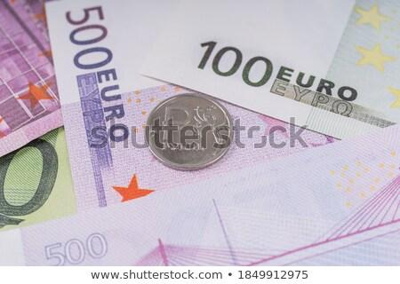Közelkép színes öt tíz húsz eurók Stock fotó © latent