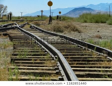 ferrovia · diferente · instruções · metal · indústria - foto stock © frankljr