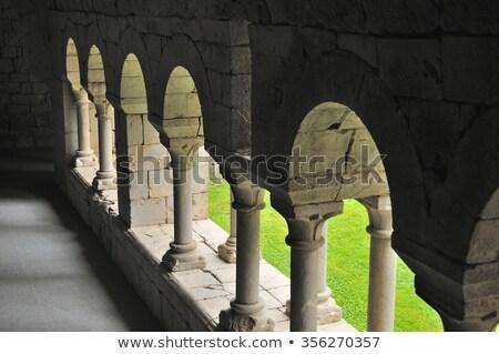 Célèbre monastère fleur Rock pierre Photo stock © arocas