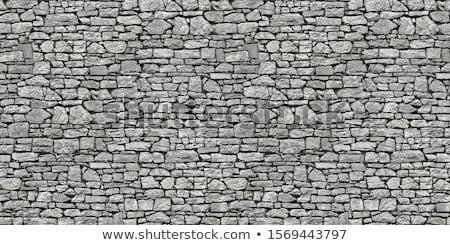 Steen metselwerk abstract textuur gebouw achtergrond Stockfoto © cookelma
