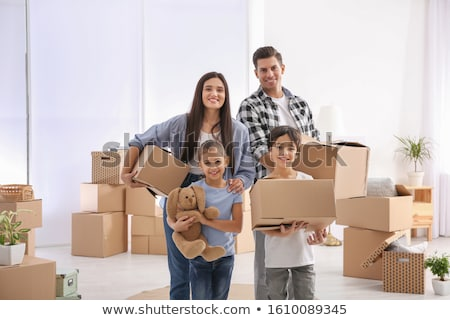Stock photo: Young new family