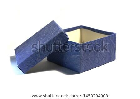 Blauw denim weefsel boven textuur Stockfoto © Balefire9