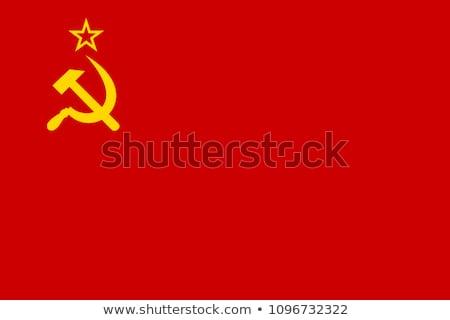 Soviet Flag Stock photo © Alvinge