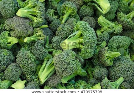 broccoli · markt · groenten · voedsel · natuur · najaar - stockfoto © Rebirth3d