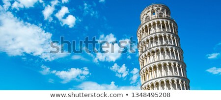 Leaning Tower of Pisa Detail Stock photo © Kacpura