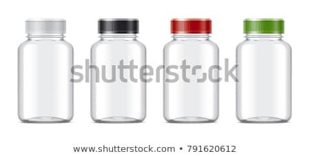Green Pill Bottle Stock photo © devon