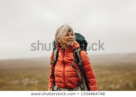 Hiker portrait Stock photo © Maridav