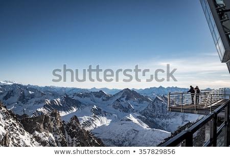 cableway and mont Blanc Stock photo © Antonio-S