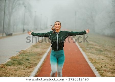 running athlete stock photo © stevemc