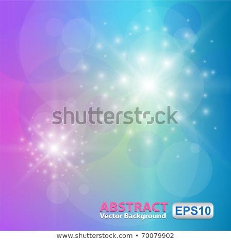 Fényes kék rózsaszín futurisztikus fényes háttér Stock fotó © stuartmiles