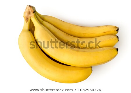 macro view of a bunch of bananas stock photo © ozaiachin