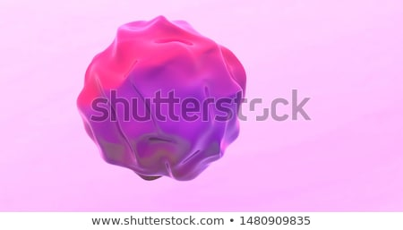 3d pink abstract glossy blob render Stock photo © Melvin07