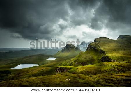 coloré · onirique · paysage · panoramique · paysages · Écosse - photo stock © prill