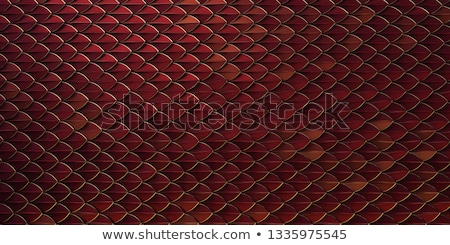 Golden Chinese Dragon in red wall  stock photo © jakgree_inkliang
