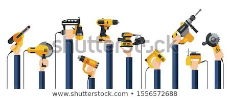 handyman · três · de · um · tipo · edifício · homem · construção - foto stock © photography33