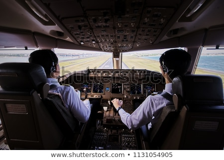 airline pilot and co pilot stock photo © photography33