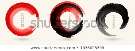 sprey · siyah · mürekkep · sıçrama · vektör · kül - stok fotoğraf © lapesnape