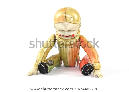 old clown doll stock photo © Marcogovel