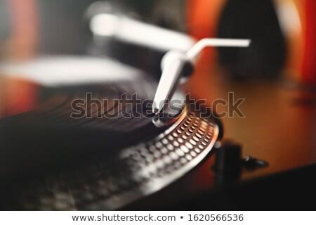 eski · gramofon · müzik · konser · araç · antika - stok fotoğraf © sumners