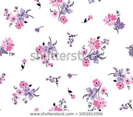 Senza soluzione di continuità modello di fiore design fiore carta home Foto d'archivio © creative_stock