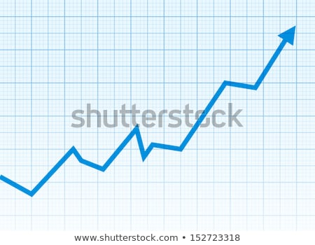 Statistical graph with increasing Stock photo © Myvector