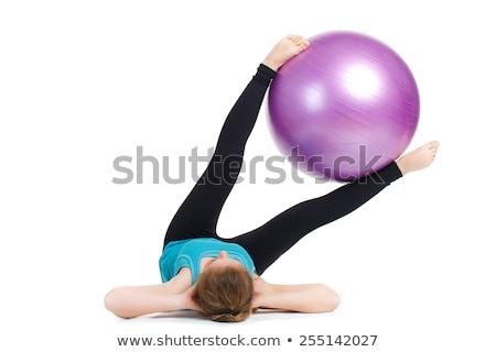 Pilates exercise series Stock photo © Forgiss