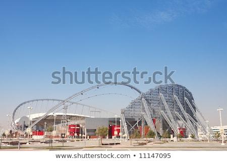Spor stadyum Katar kule hizmet nokta Stok fotoğraf © SophieJames