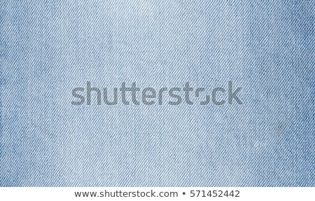 Denim Fabric Texture - Blue Pocket Stock photo © eldadcarin