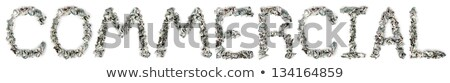 Commercial - Crimped 100$ Bills stock photo © eldadcarin