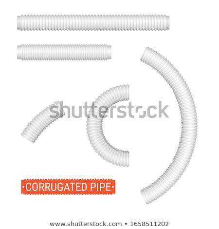 Flessibile pipe primo piano industria store spirale Foto d'archivio © eltoro69