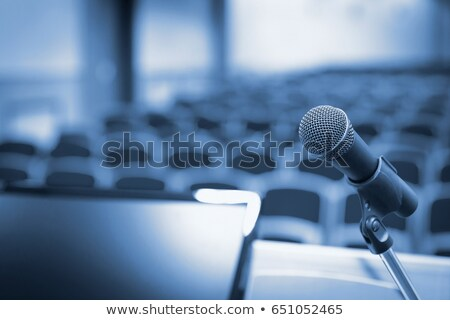 microphone in auditorium stock photo © paha_l
