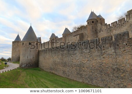 Perimeter fortified stone wall stock photo © Discovod