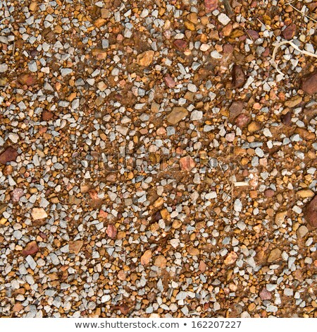 Seamless Tileable Texture of Macadam Surface. Stock photo © tashatuvango