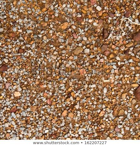 szürke · sóder · végtelenített · textúra · építkezés · háttér - stock fotó © tashatuvango