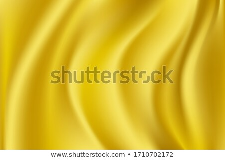 Stock photo: Yellow satin textile