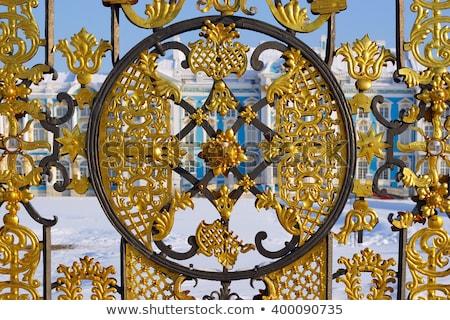 宮殿 · 町 · 空 · 家 · 自然 · 夏 - ストックフォト © mikko