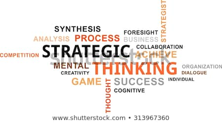 Strategy Tag Cloud Stock photo © burakowski