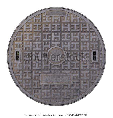 Manhole cover Stock photo © IMaster