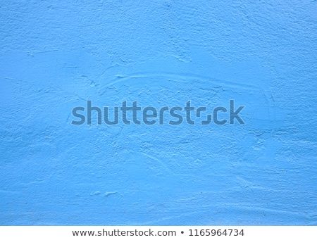 синий конкретные стены грубо шаблон небе Сток-фото © meinzahn