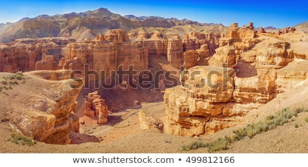 Canyon of Charyn in Kazakhstan Stock photo © Ralko