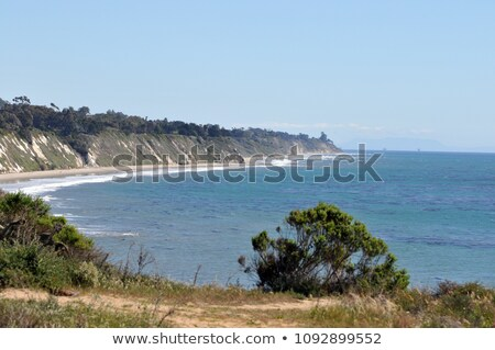Stock photo: View of the Pacific Ocean