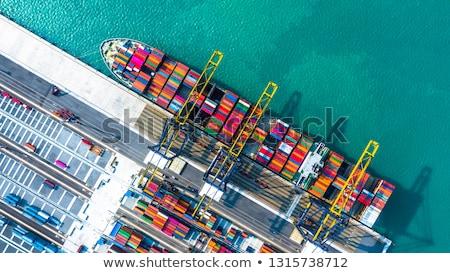 Import nemzetközi kereskedelem nemzetközi világszerte globális kereskedelem Stock fotó © kikkerdirk
