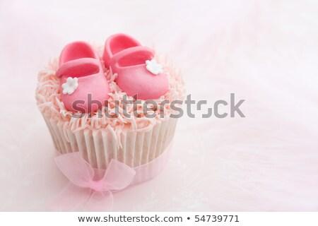 Dekore edilmiş bebek yeni ayakkabı Stok fotoğraf © Bumerizz