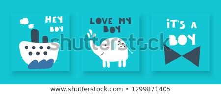 Hey, boy! Stock photo © Novic