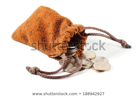 purse with old coins Stock photo © sharpner