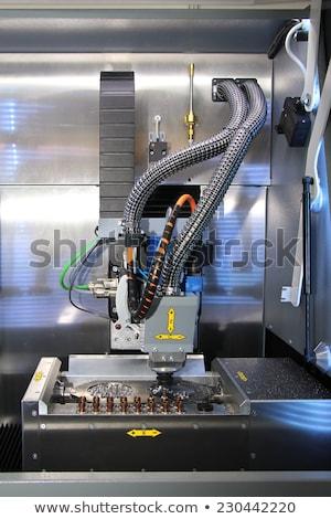 Fogászati tevékenység gép ki számítógép manipulált Stock fotó © smuki